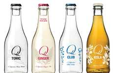 Botanical Cocktail Sodas - Q Drinks' Line of Carbonated Beverages is Ideal for Creating Mixed Drinks