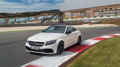 Sporty German Coupes - The C 63 Coupe is the Most Sporty Mercedes C-Class Ever