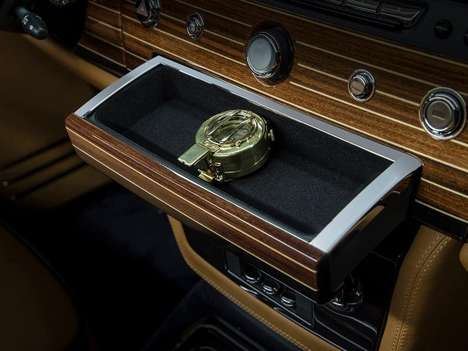 Luxurious Nautical Autos - The New Rolls-Royce Design Phantom Nautica Takes Inspiration from the Sea