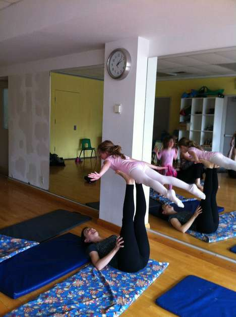 Family-Friendly Yoga Classes - This Yoga Studio Provides a Fun Way for Parents and Children to Bond