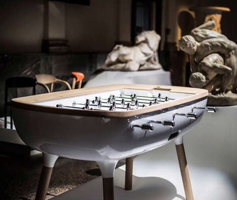 Opulent Foosball Tables - The Pure Foosball Set is Meant to Be an Elegant Design Feature in Homes