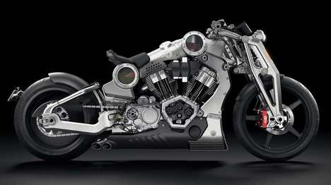 Insanity-Laden Motorbikes - The P51 Combat Fighter is Crazy Awesome in Appearance