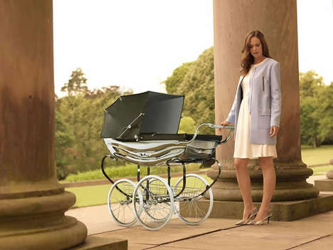 Royally Opulent Prams - This $7,800 Silver Cross Pram is Fit for a King
