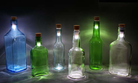 Rechargeable Bottle Lights - SUCKUK's Unique Bottle Accessories are Ideal for Parties