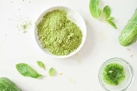 Matcha Mint Skin Care - This Cucumber and Green Tea Face Mask Contains Powerful Anti-Oxidants