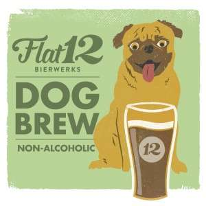 Bizarre Canine Beers - The Flat12 Paws Beer Drink is Designed Specifically for Dogs to Enjoy