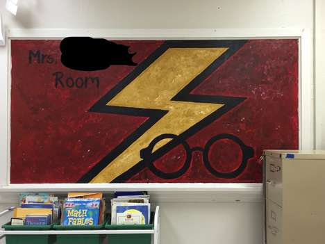 Wizardly School Classrooms - This Harry Potter-Themed Classroom Honors the Beloved Series