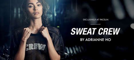 Sporty Blogger Apparel - Fitness Blogger Adrianne Ho is Debuting a Sultry Sportswear Collection