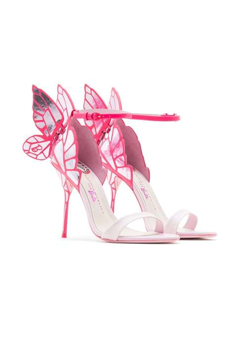 Doll-Inspired Stilettos - Sophia Webster Created a Shoe Collection Based on Barbie's Dream Closet
