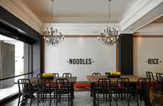 Cafe-Inspired Noodle Restaurants