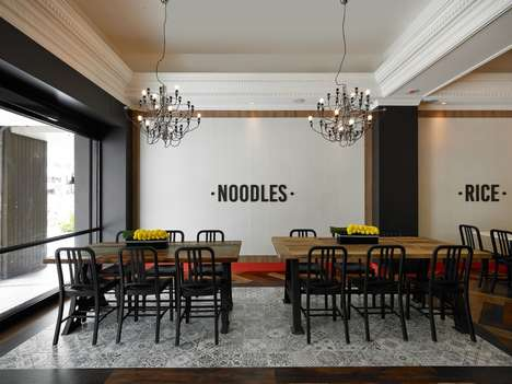 Cafe-Inspired Noodle Restaurants - This Taipei Restaurant Features Decor Inspired by the West