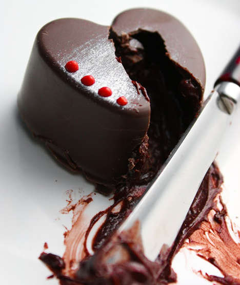 Vino Chocolate Truffles - Red Wine Chocolate Truffles Add a Sultry Twist to the Usual Sweet Treat