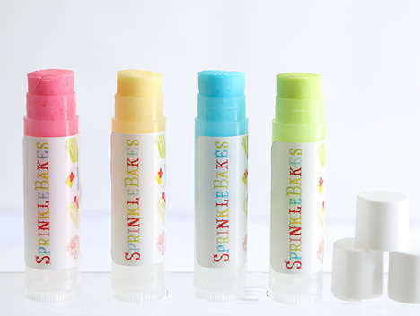 Candy Lip Balm - These Sprinkle Bakes Lipsticks are Far More Delicious than the Usual Lip Smackers