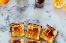 Citrus Brûlée Bars - These Delicious Squares Treats Take Inspiration from Creme Brûlée Custard