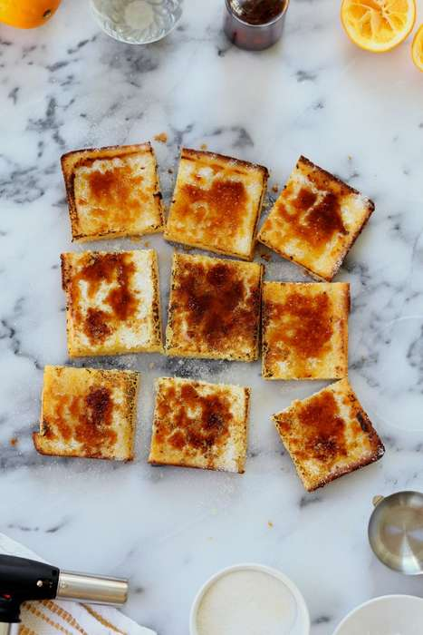 Citrus Brûlée Bars - These Delicious Squares Treats Take Inspiration from Creme Brûlée Custard