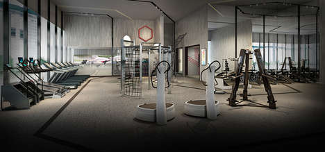 Luxurious High-Tech Gyms - This Fitness Center Features Futuristic Equipment and 3D Body Scans