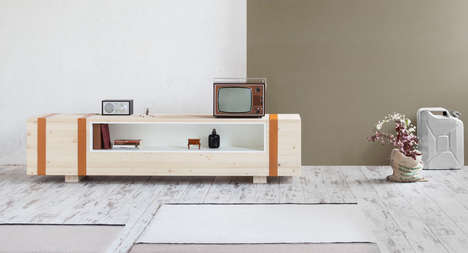 Ammunition-Inspired Furniture - This Sideboard Was Created from the Design of an Ammunition Chest