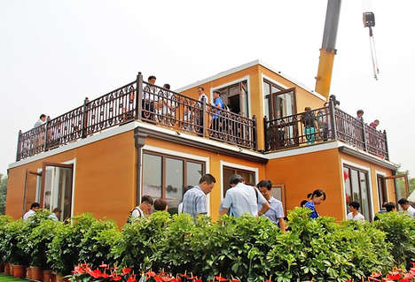 Inexpensive 3D-Printed Villas - This Mind-Blowing House Was Built in Just 10 Days Using a 3D Printer