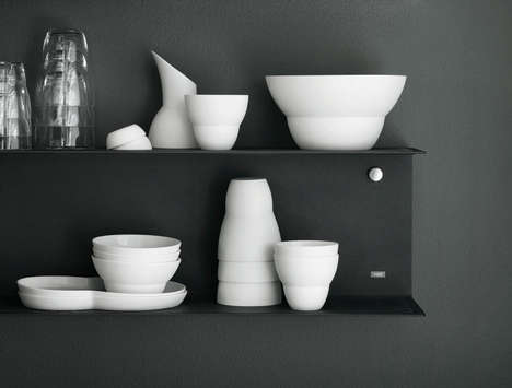 Minimalist Ceramic Collections - Vipp Modernizes Kitchenware Using Unconventional Materials