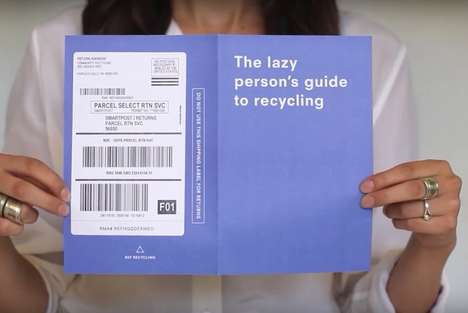 Recycled Clothing Initiatives - The 'RefRecycle' Initiative Sends You a Box to Donate Clothes