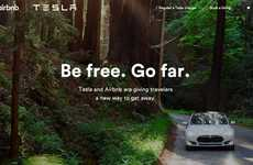 Residential Charging Stations - Tesla Motors and Airbnb Team Up to Provide Eco Roadtrip Solutions