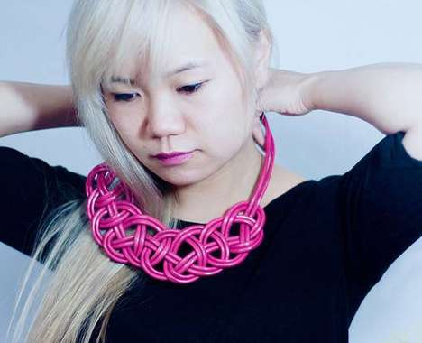 Upcycled Tech Jewelry