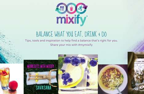 Balanced Lifestyle Platforms - Mixify Encourages Young Social Media Users to Live Healthy Lives