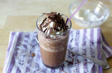 Icy Cocoa Drinks