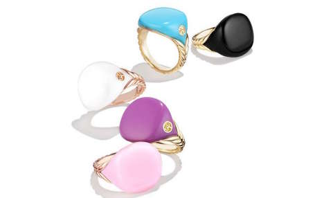 Extravagant Scented Rings - These Scented Pinky Rings by David Yurman will Cost Consumers $875