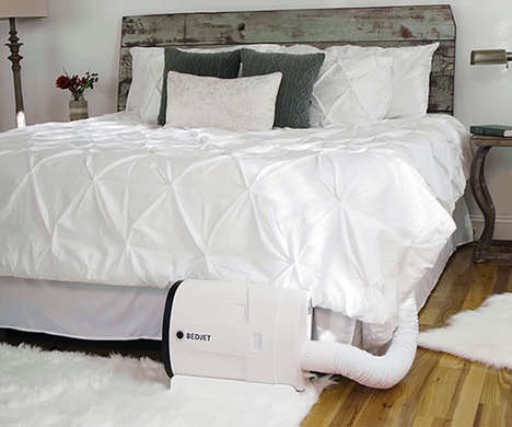 Climate-Control Beds - The BedJet Allows You to Control Your Sleeping Temperature at All Times