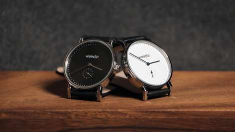 Swappable Watch Straps - 'Weird.h' Sells Simple Watch Faces with Stylish Straps