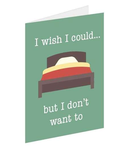 Sitcom-Inspired Greeting Cards - These Cards Share Quirky Quotes from 'Friends' for Any Occasion