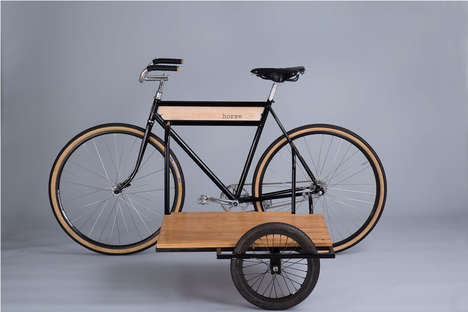 Stylish Bicycle Sidecars - These 'Horse Cycles' Bikes Feature Functional Sidecars