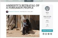 Journalism Crowdfunding Platforms - The 'Byline' Website Helps Support Independent Journalism