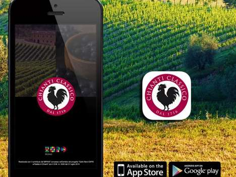 Beacon Winery Tours - Consorzio Vino Chianti Classico's App Leads Italian Wine Tours with Beacons