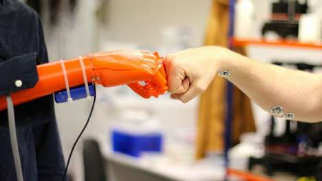Superhero-Inspired Robotic Hands - These 3D-Printed Prosthetics Lend New Abilities to Amputees