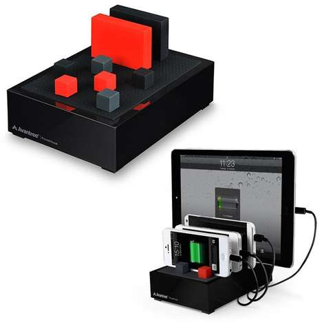 Organized Multifunctional Chargers - This Charger Keeps All Your Devices Powered While Being Neat