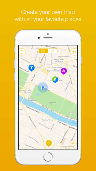 Geotagged Destination Apps - 'Mapstr' Allows Users to Bookmark and Share Favorite Destinations
