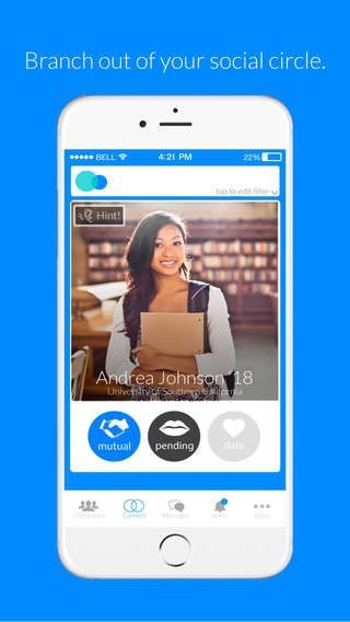 Student-Only Social Networks - 'Friendsy' is a Service That Helps College Students Meet New People