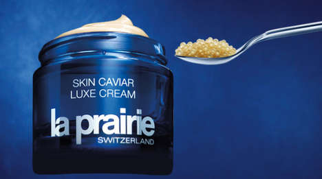 Opulent Caviar Skincare - The New Skin Caviar Cream Can be Purchased in a Crystal Goblet