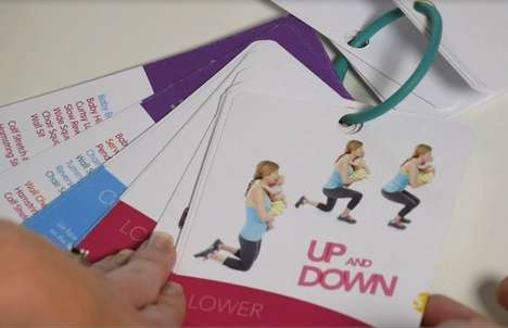 Baby-Integrated Workouts - 'Baby Strong Workouts' for Moms Use Their Babies During Exercise