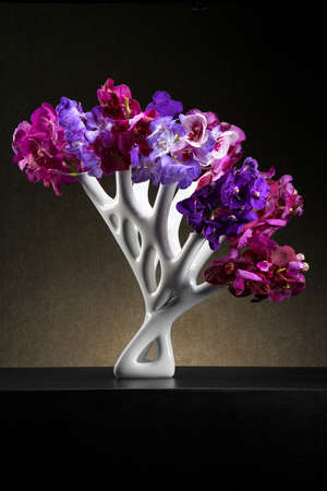 Elegant Coral Vases - This Flower Vase Mimicks the Appearance of Natural Sea Coral