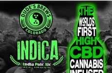 Cannabis-Infused Beers - The Cann-Beer is Made with Cannabis Plant Extract Creating Taste & Aroma