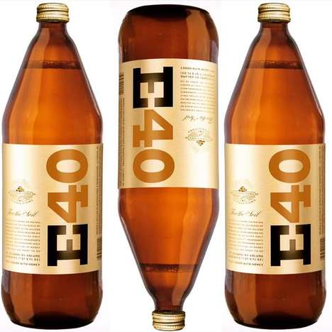 Celebrity Malt Liquors - Rapper 'E-40' Created His Own 40-Ounce Namesake Malt Liquor Beer