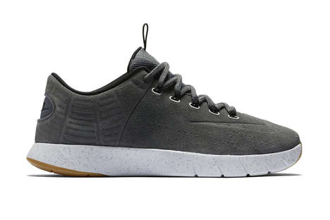 Velvetine Lunar Sneakers - The Nike Lunar Hyperrev Street Shoes are Made With Sleek Suede