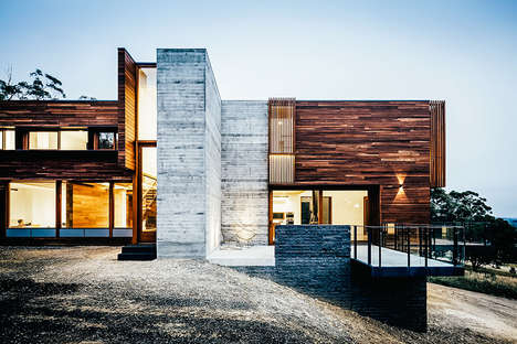Sustainable Elevated Homes - The 'Invermay House' is Designed to Minimize Environmental Impact