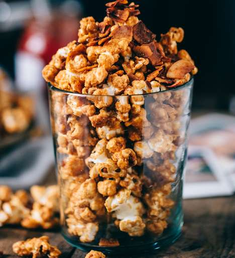 Spicy Sweet Popcorn - This Sweet and Spicy Popcorn Flavoring Includes Caramel and Hot Sauce