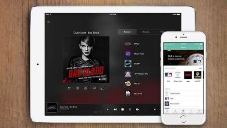 International Streaming Tools (UPDATE) - 'TuneIn' Now Offers a Premium Tier and Ad-Free Radio