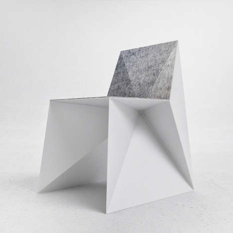 Origami-Inspired Chairs - One Designer Creates a Chair Inspired by the Geodesic Dome