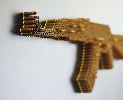 Poignant Firearm Artwork